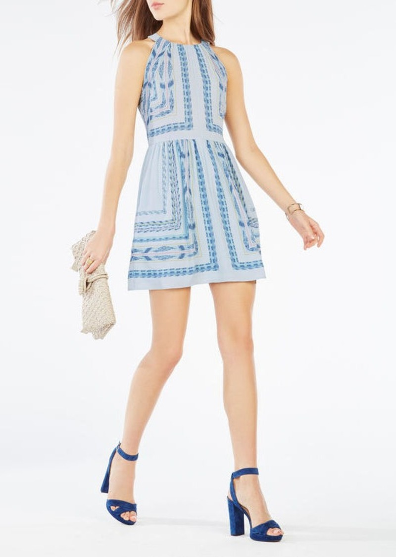 BCBG Cambria Tapestry Print Dress