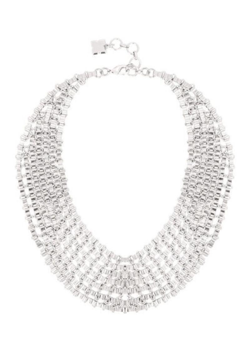 BCBG Chain Bib Necklace