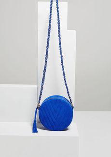BCBG Chantel V-Quilt Round Bag