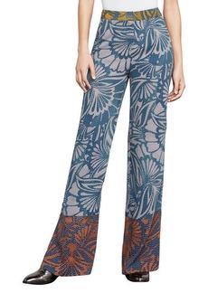 Chris Floral-Print Wide-Leg Pant
