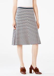 Dasen Pointelle Midi Skirt