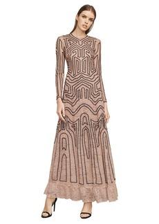 Dasha Floral Lace Gown