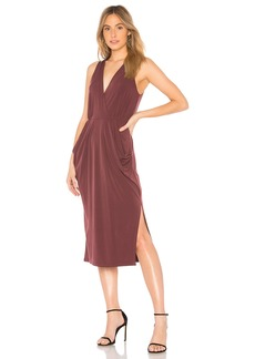 Deep Draped Dress