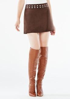 Dorthy Faux-Suede Miniskirt