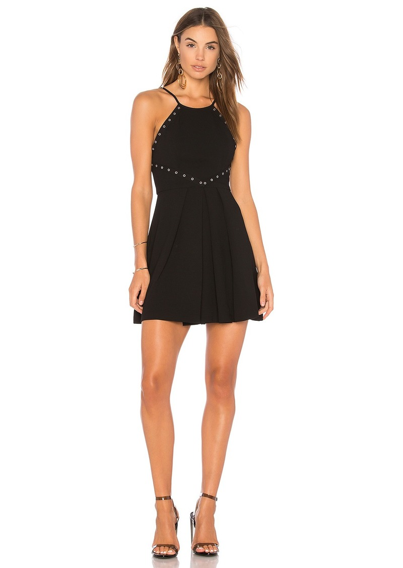 BCBG Dress With Trims In Black