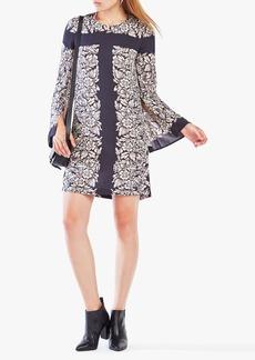 Dulchey Floral Print Tunic Dress