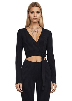 81633d8138053 Emily Ribbed Crop Top. BCBG