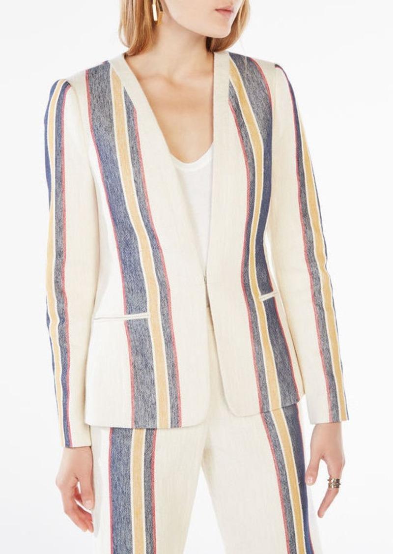 BCBG Emmett Striped Blazer