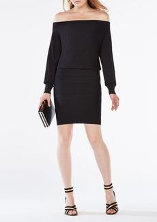 Evaline Off-the-Shoulder Dress