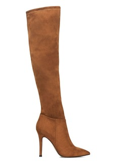 Evie Faux-Suede OTK Boot