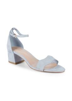 Farlyn Microsuede Block Heel Sandals