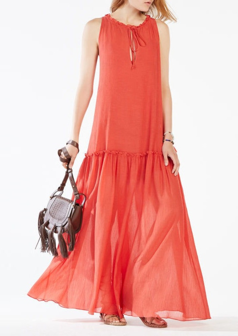 BCBG Galiana Drop-Waist Maxi Dress