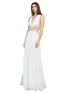 BCBG Gisela Embroidered Gown