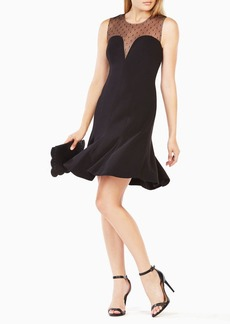 Hanna Dotted Mesh Dress