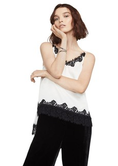 Helena Lace-Trimmed Top