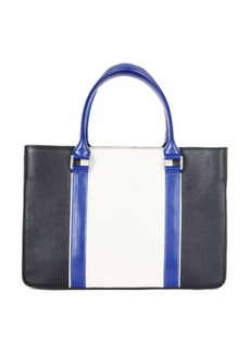 BCBG Imani Color-Blocked Leather Satchel