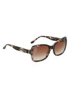 BCBG Impress Striped Sunglasses