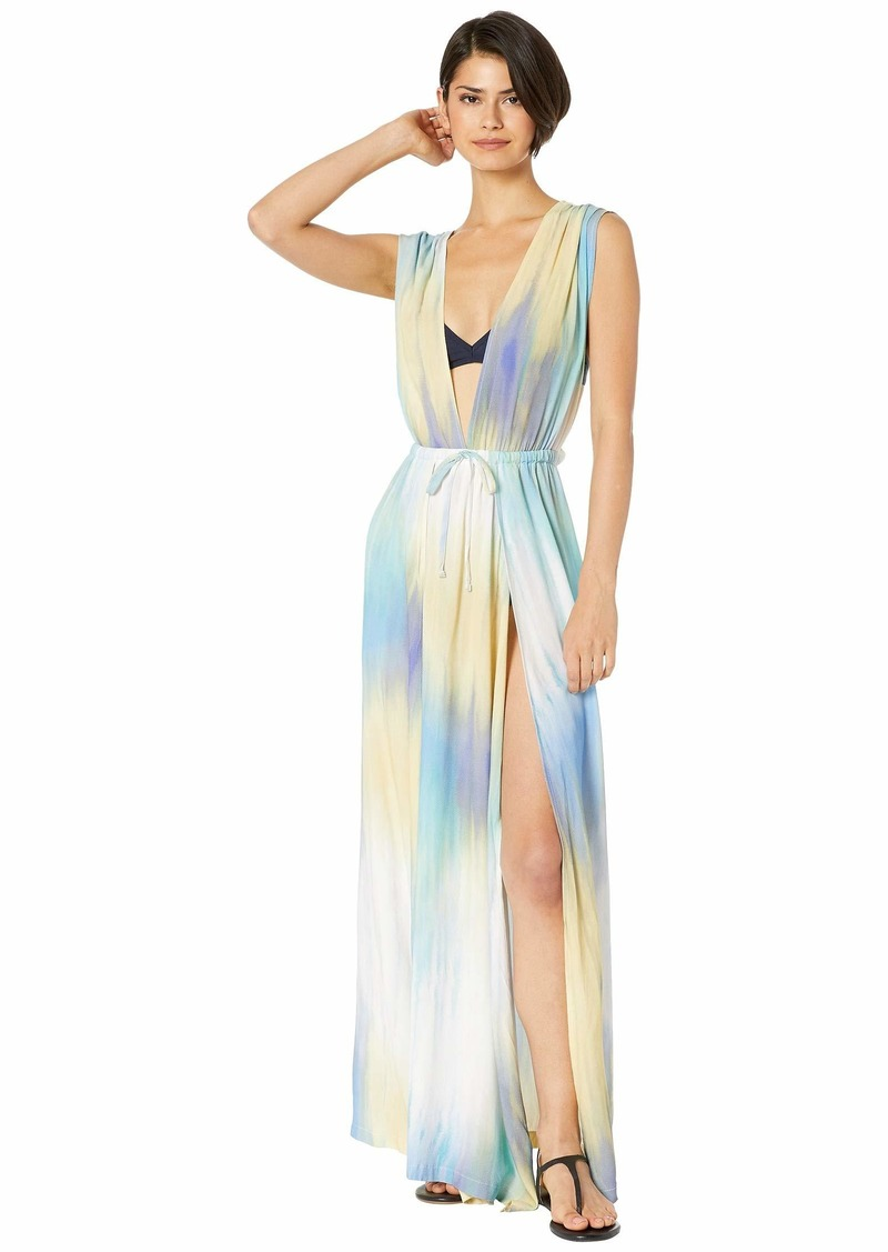 It's A Wash Overlap Maxi Dress Cover-Up