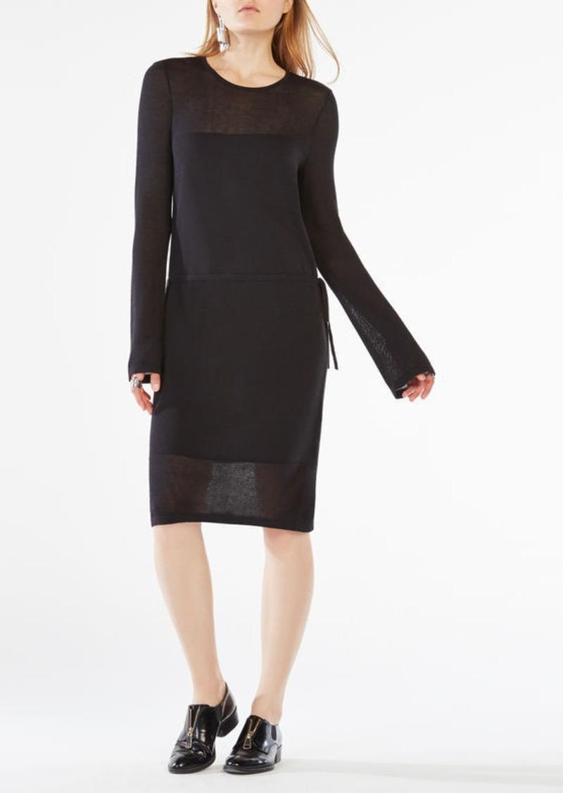 BCBG Janella Long-Sleeve Dress