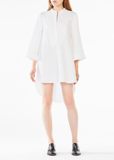 BCBG Jessie Cotton Shirt Dress