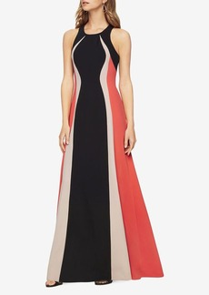 Johanna Color-Blocked Gown