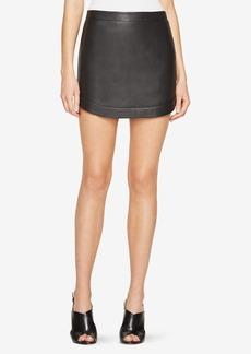 Kanya Faux-Leather Miniskirt