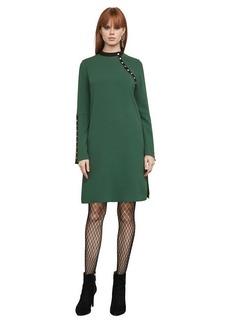 Kathryne Bell-Sleeve Snap Dress