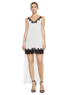 Lake Lace-Trimmed High-Low Dress