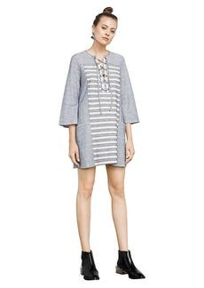 BCBG Lani Embroidered Dress
