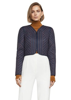 Logun Quilted Crop Jacket