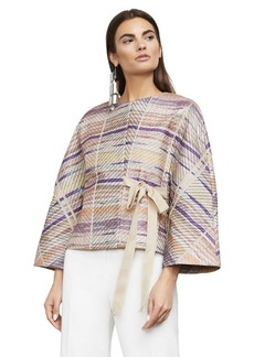 Malin Quilted Striped Jacket