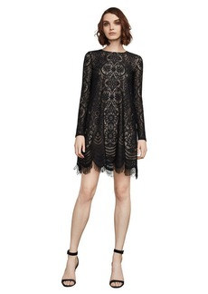 BCBG Marae Lace A-Line Dress