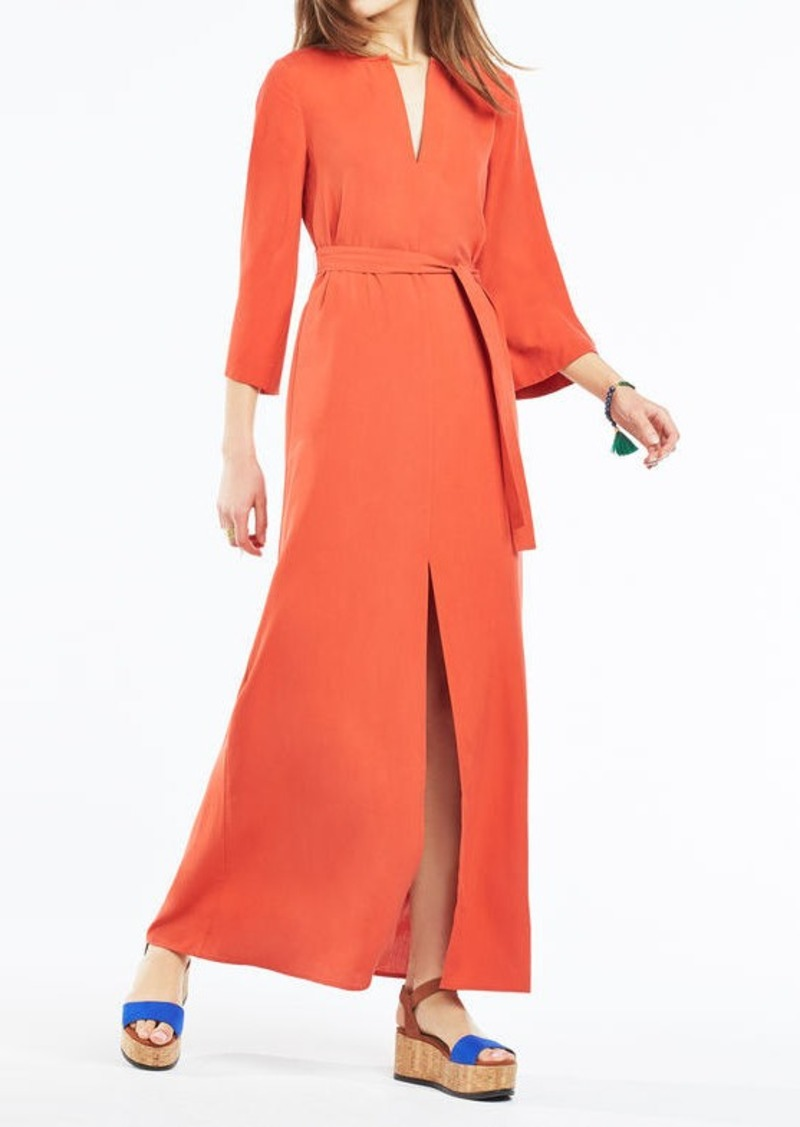 BCBG Marlise Belted Maxi Dress