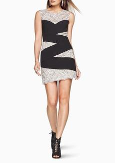 Mathilde Striped Lace Dress