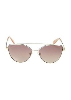BCBG Max Azria 60MM Cat Eye Sunglasses