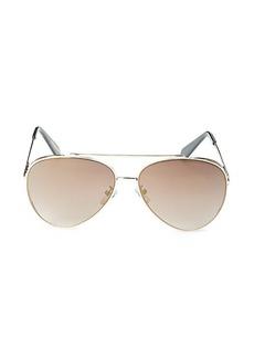 BCBG Max Azria 62MM Aviator Sunglasses