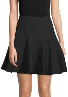 BCBG Max Azria A-Line Godet Skirt