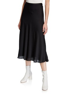 BCBG Max Azria A-Line Midi Skirt