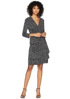 BCBG Max Azria Adele Knit City Wrap Dress