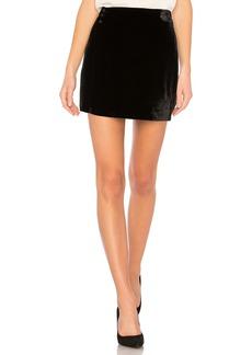 Albie Mini Skirt In Black