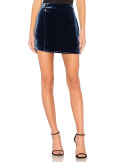 BCBG Max Azria Albie Mini Skirt In Black