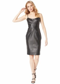 BCBG Max Azria Alese Faux Leather Dress