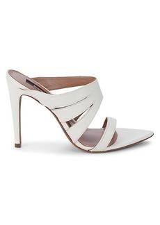 BCBG Max Azria Alexa Leather Heeled Sandals