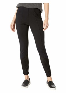 BCBG Max Azria Angled Patch Leggings
