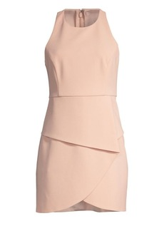 BCBG Max Azria Asymmetric Mini Dress