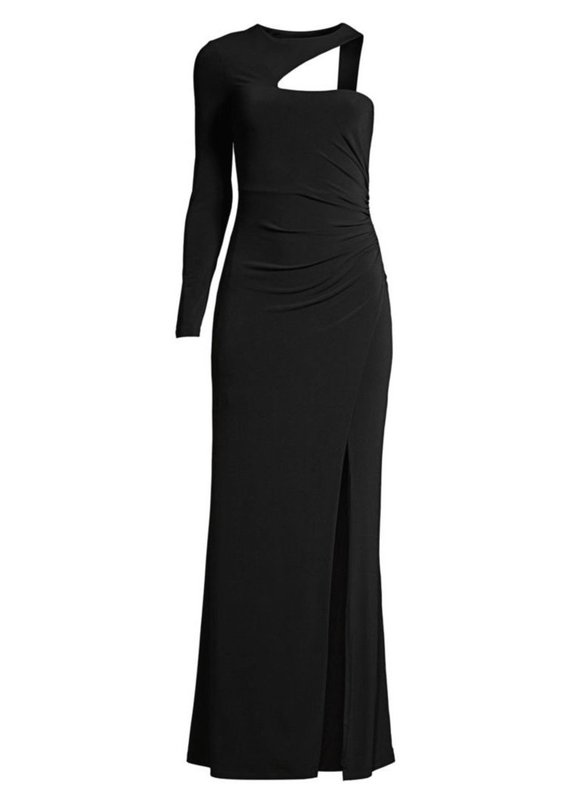 Asymmetric One-Shoulder Gown