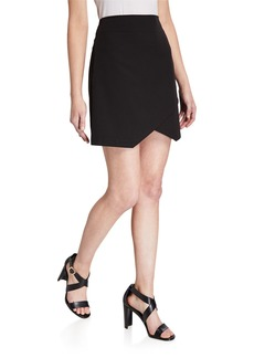 BCBG Max Azria Asymmetric Pencil Skirt