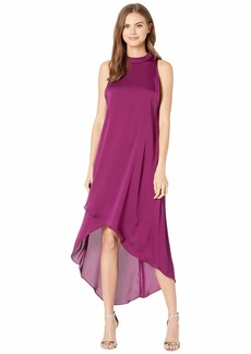 BCBG Max Azria Asymmetrical Hem Sleeveless Dress