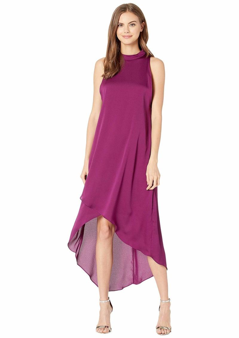 BCBG Max Azria Asymmetrical Hem Sleeveless Dress