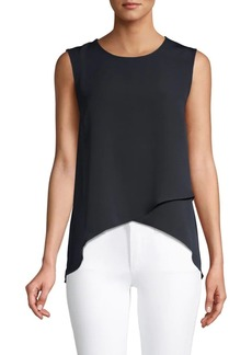 BCBG Max Azria Asymmetrical High-Low Top
